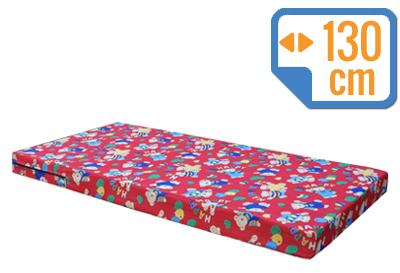 Materacyk wypoczynkowy 130/60/8 cm tkanina