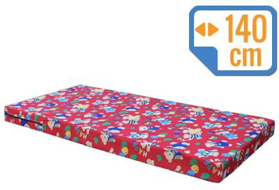 Materacyk wypoczynkowy 140/60/8 cm tkanina