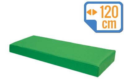 Materacyk wypoczynkowy 120/60/8 cm skaj