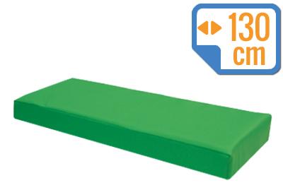 Materacyk wypoczynkowy 130/60/8 cm skaj