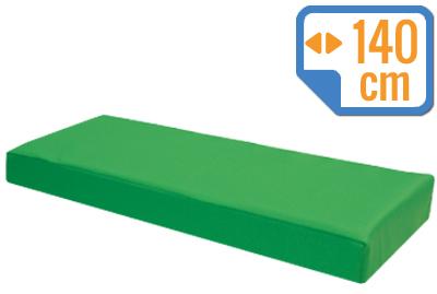 Materacyk wypoczynkowy 140/60/8 cm skaj