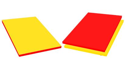 Szafka Robert - kolory płyty i obrzeży standard
