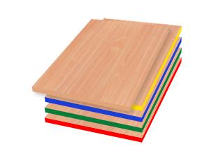 Kolory - zestaw przedszkolny Leśny Domek