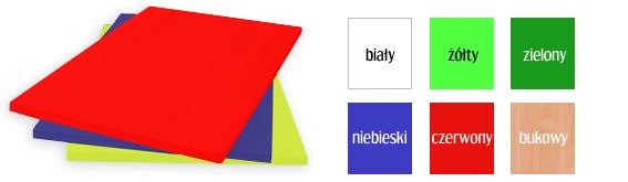 Meble przedszkolne - kolorowa płyta