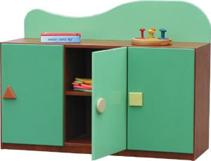 Kącik Przyrody - szafka przedszkolna 1