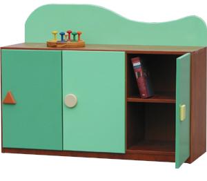 Kącik Przyrody - szafka przedszkolna 2