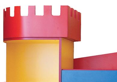Zestaw tematyczny Zamek - meble przedszkolne