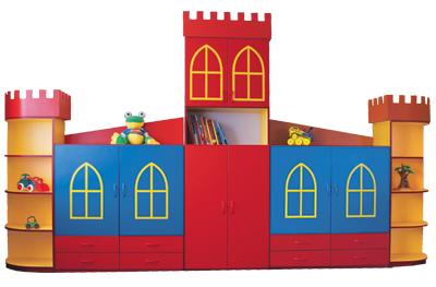 Zamek - tematyczne meble przedszkolne