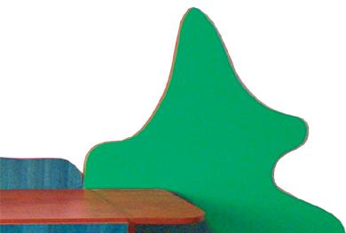 Las - tematyczny zestaw mebli przedszkolnych